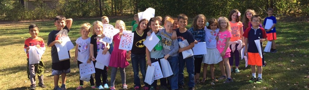 Mrs. Turner's students enjoy a fall day