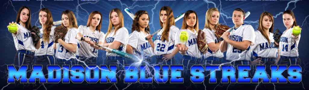 Bluestreaks softball team
